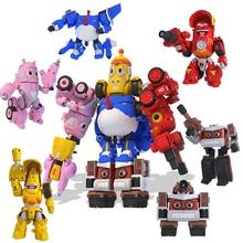 اليرقة لعبة التحول اللعب نموذج ألعاب شخصيات الحركة دمية الكرتون عمل الشكل الاطفال هدية