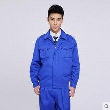 Long-sleeve clothes set work put on work garments set work garments workwear