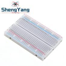 1pcs ShengYang Quality mini bread board / breadboard 8.5CM x 5.5CM 400 holes