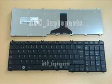 Novo po teclado português teclado para toshiba satallite c665 c665d c670 c670d c675 c675d portátil preto
