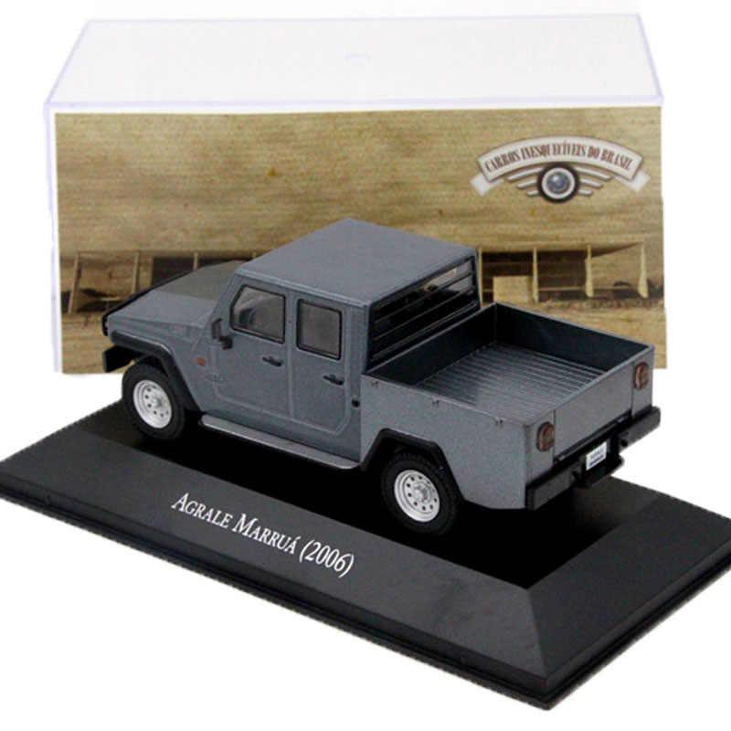 Ixo Altaya 1:43 Skala Agrale Marrua 2006 Truk Pickup Mobil Diecast Model Mainan Koleksi