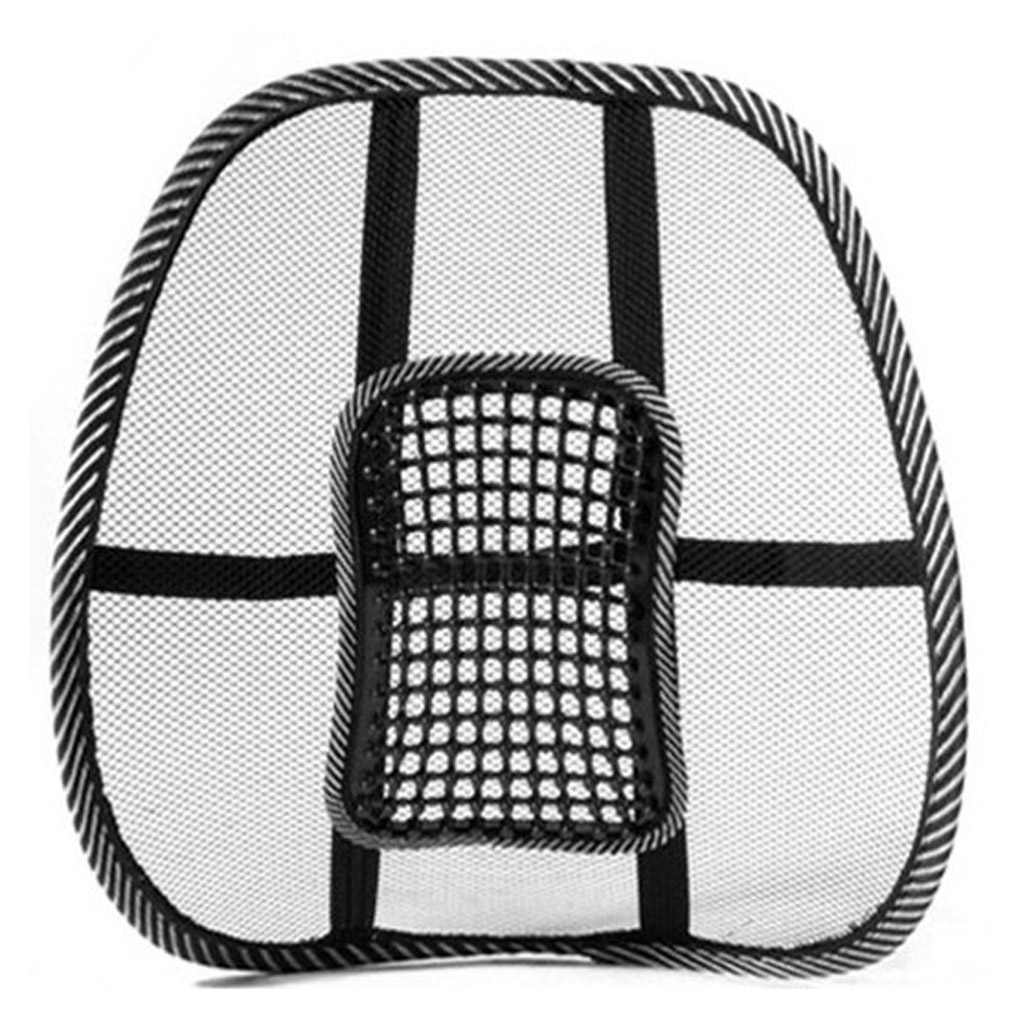 High quality mesh back lumbar support massage beads for car seat chair massage cushion 40