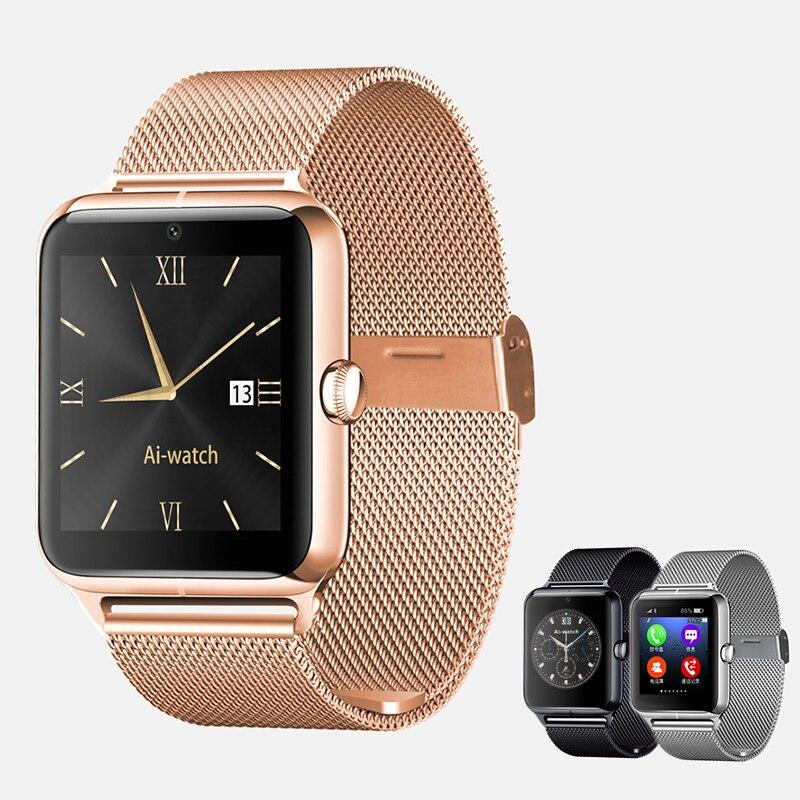 Bluetooth smart watch z50 2g internet wearable dispositivos nfc sim soporte de t