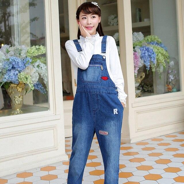Беременные женщины Ремень брюки Для Беременных джинсы Весна и Осень патч джинсы, подтяжки
