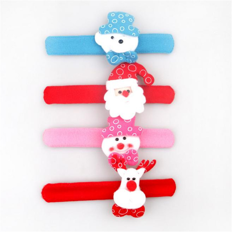 ᗑled flashing bracelet ︻ kid toy lovely santa claus