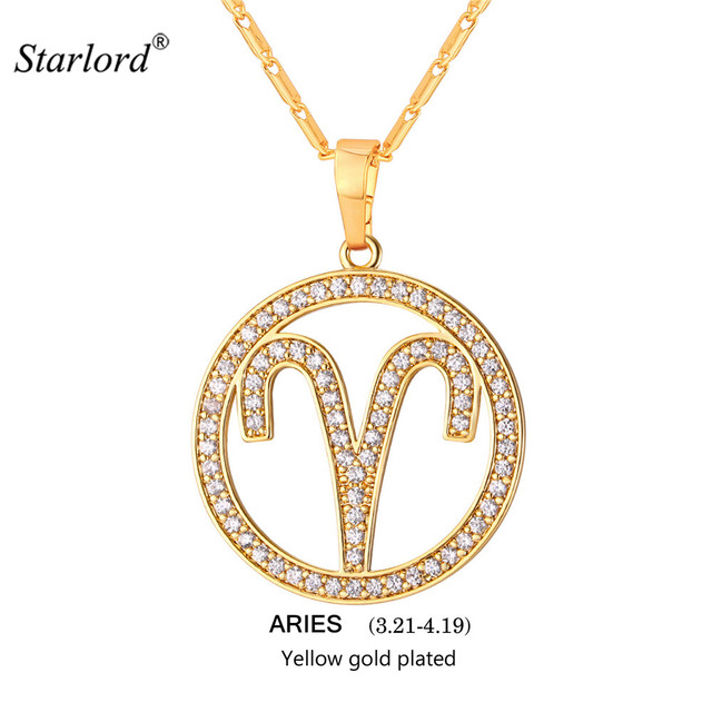 New zodiac charms aries pendant necklace simple design jewelry gift new zodiac charms aries pendant necklace simple design jewelry gift rhinestone goldsilver color necklace aloadofball Choice Image