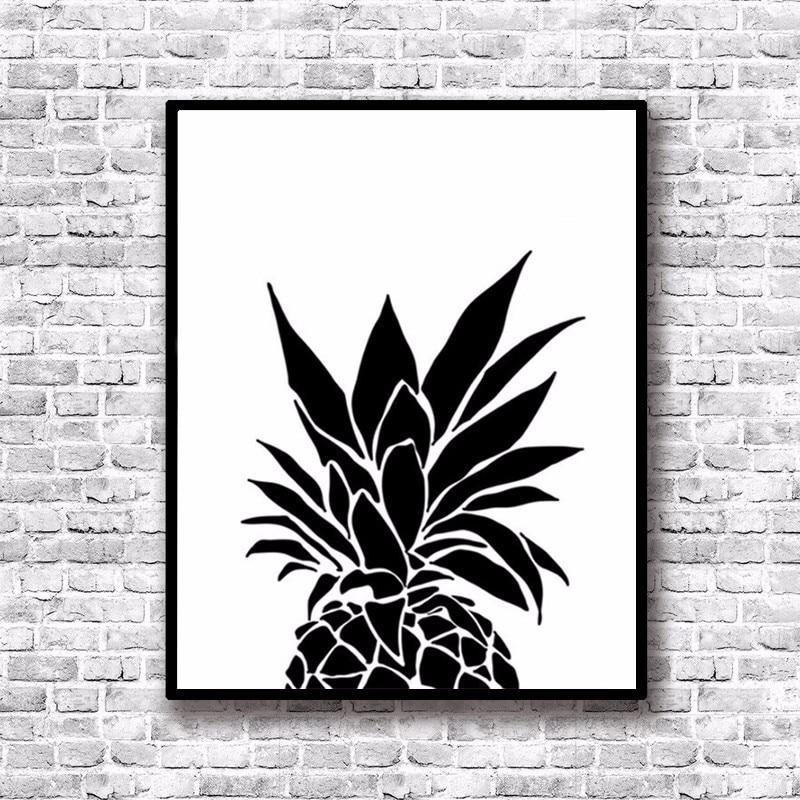 Постер черно белый на стену