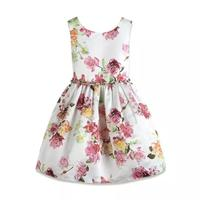 Children Baby Girl Dress Clothing Sequins Party Gown Mini Ball Formal Love Backless Princess Bow Backless