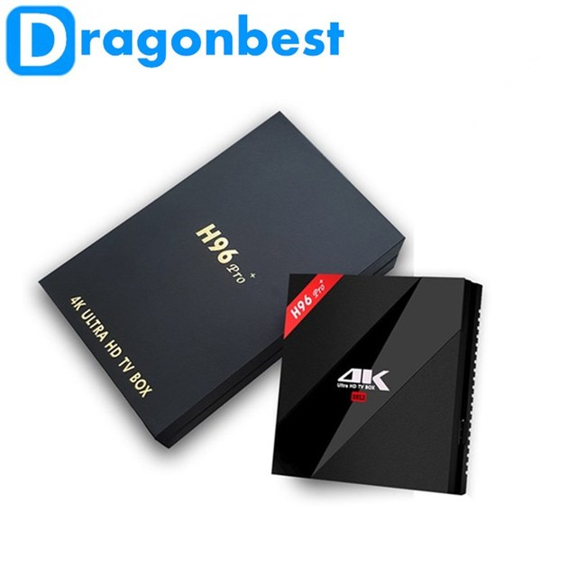 Android TV Box H96 Pro Plus Amlogic S912 Octa Núcleo 2G/3G 16G/32G Tv Box 2.4G/5.8 GHz Wifi HDMI 4 K HDR BT4.1 Medios jugador