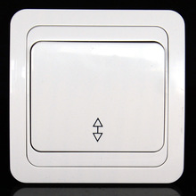 European standard high quality single open double controlled wall switch has CE authentication