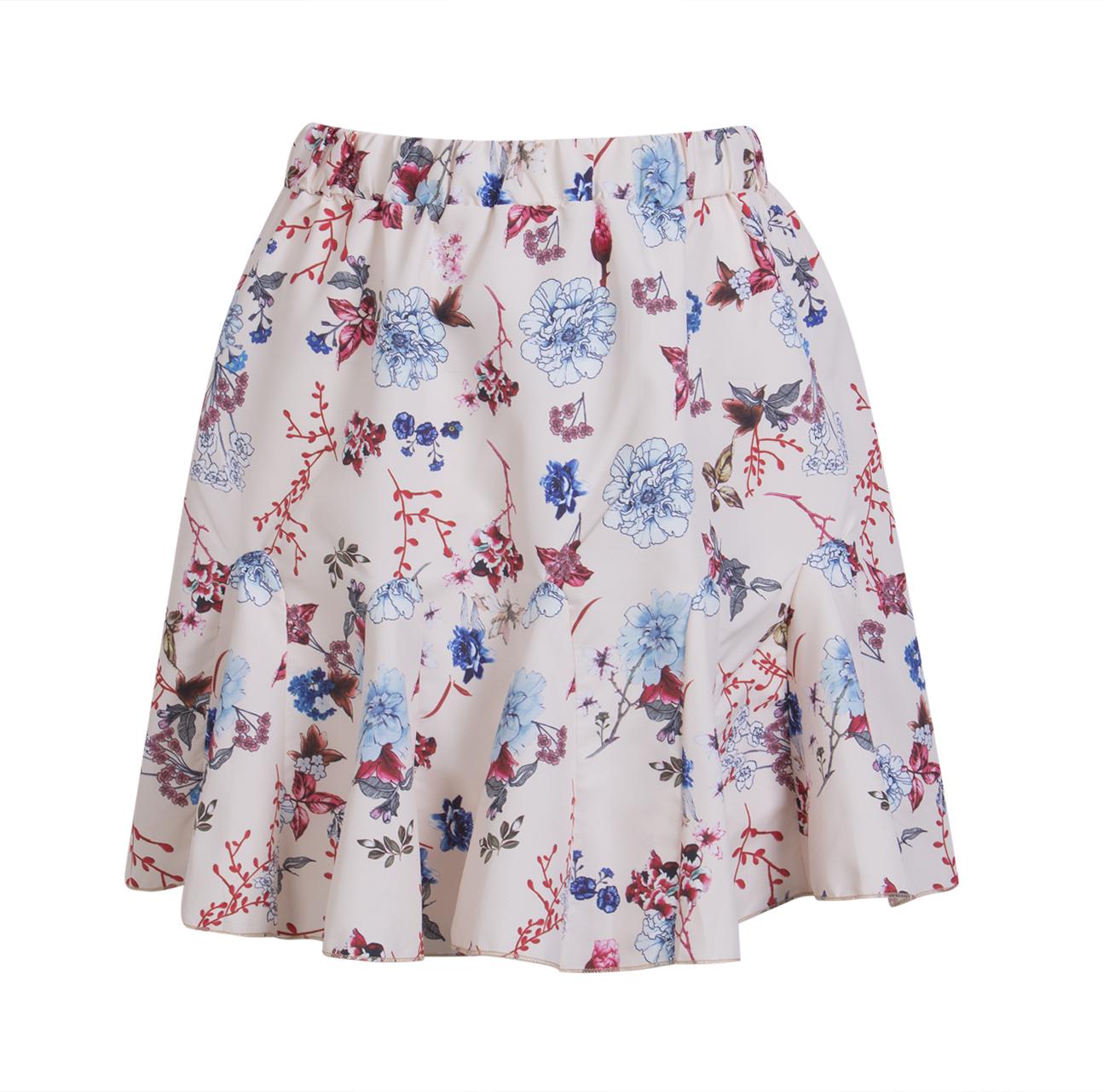 HTB1kJuuSpXXXXa6XFXXq6xXFXXXU - Women Floral Mini Skirt JKP090