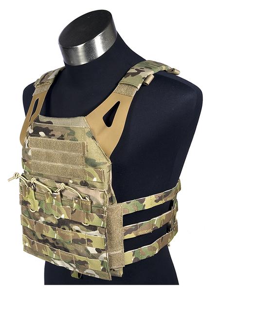 Multicam 500D Mil Spec militar transportadora placa JPC combate Molle Tactical Vest exército militar coletes de combate Gear transportador