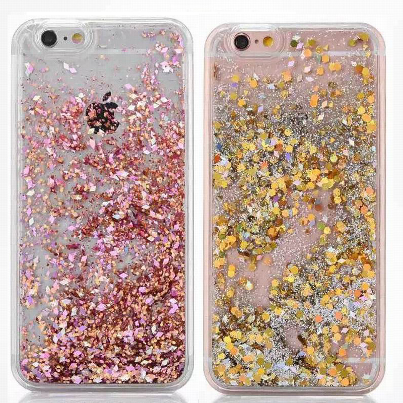 Suyacs For Iphone 5 5s Se 5c Case Back Cover Glitter