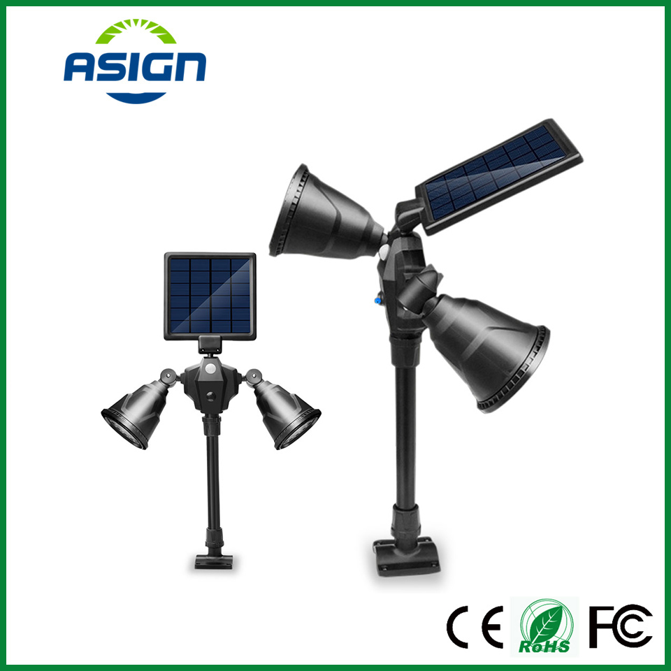 Solar Led Lawn Lamps Led Spot Light Waterproof IP65 7.2W Portable Solar Energy Lamp Decoration Path Led Solar Garden Lighting недорого