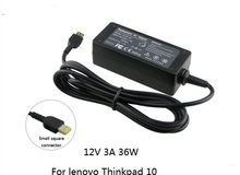 Model NEW 12V 3A 36W for Lenovo ThinkPad 10 4X20E75066 TP00064A PC pill Laptop computer AC energy adapter charger