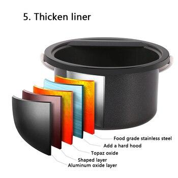 กำจัดขนเครื่องมือสมาร์ท Professional Warmer WAX Heater สปามือเท้าเครื่องกำจัดขน Depilatory Skin Care Paraffin Wax Kit