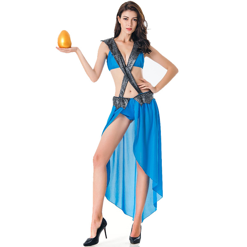 Sexy Gypsy Dancer Adult Woman Halloween Party Performance Costume on AliExpress