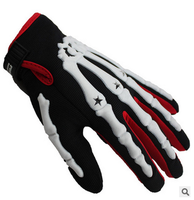 Bicycle Gloves Motorcycle Gloves Skeleton Hand Outdoor Sports Protective Gloves CE 04 Size M L XL