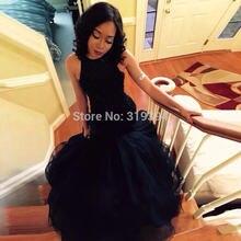 Robe de soriee Потрясающие Длинные черные вечерние платья с