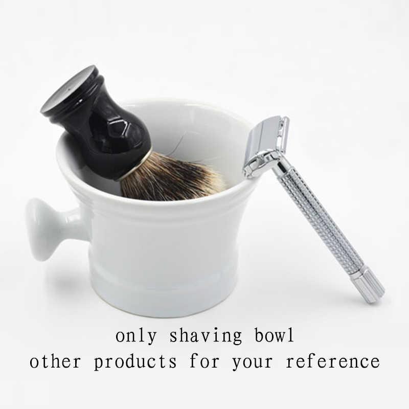 Ceramiczny kubek do golenia miska do golenia dla człowieka