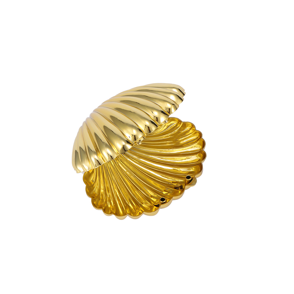 Cute Shell Shape Earrings Ring Necklace Gift Display Box Jewellery Case 8C