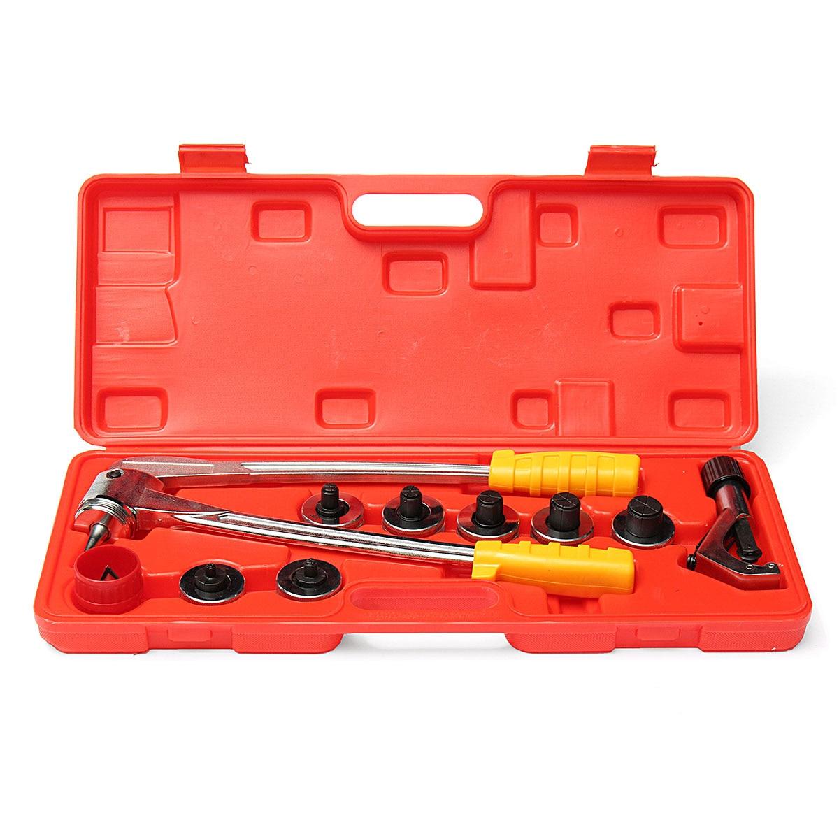 Новое поступление трубки расширитель набор инструментов расширитель труб труборез сантехника кондиционер T018 расширитель труб инструмент