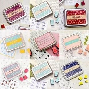 5 Box Diary Stamp Scrapbook Paper Craft Album Card DIY Ballerina Pussy Cat Jewelry Little Kids Fairy Mountain Birds etc Optional