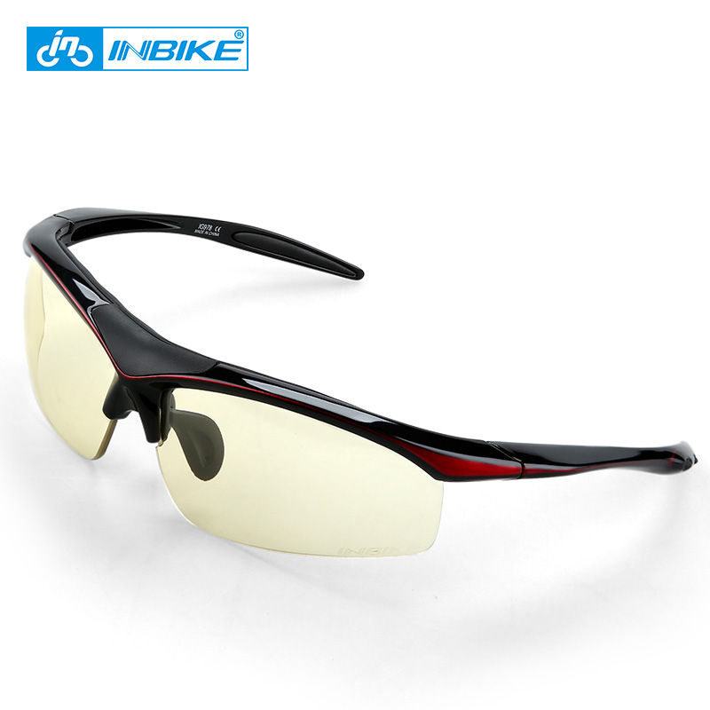 INBIKE Cycling glasses Outdoor Sports Bicycle Bicycle Goggles Glasses Road Bike Sunglasses Goggles photochromi Eyewear safety potective goggles glasses windproof dustproof eyewear outdoor sports glasses bicycle cycling glasses anti scratch