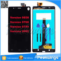 LCD Display For BQ Aquaris BQ E5 LCD Screen With Digitizer Panel Display For BQ Aquaris BQ E5 0858