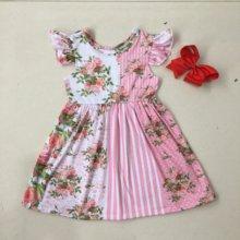 Платье для девочек с цветочным принтом puresun флаттер без рукавов