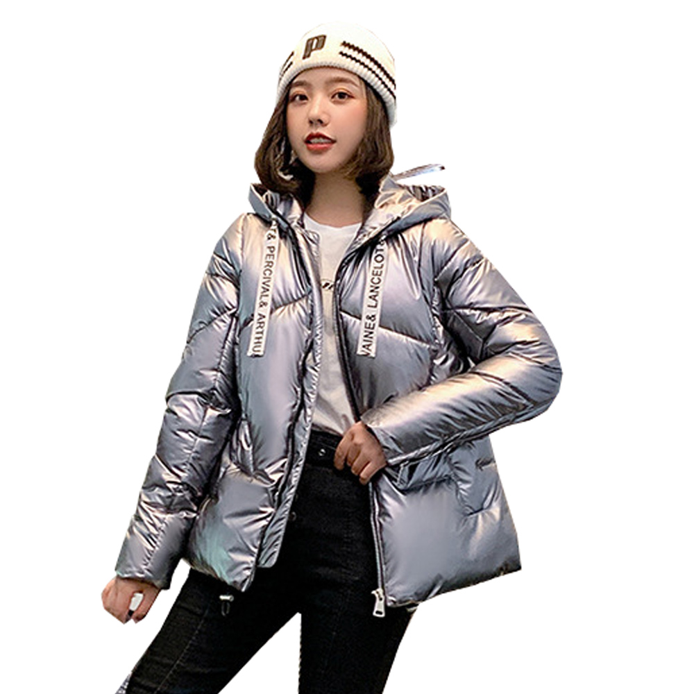 Fake Fur   Parkas   Women Down Jacket jacket 2019 new student Korean version loose down jacket winter jacket 1909
