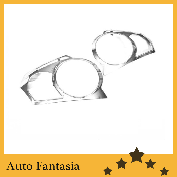 Chrome Tail Light Cover for Chevrolet <font><b>Aveo</b></font> <font><b>T250</b></font> Hatchback-Free Shipping image