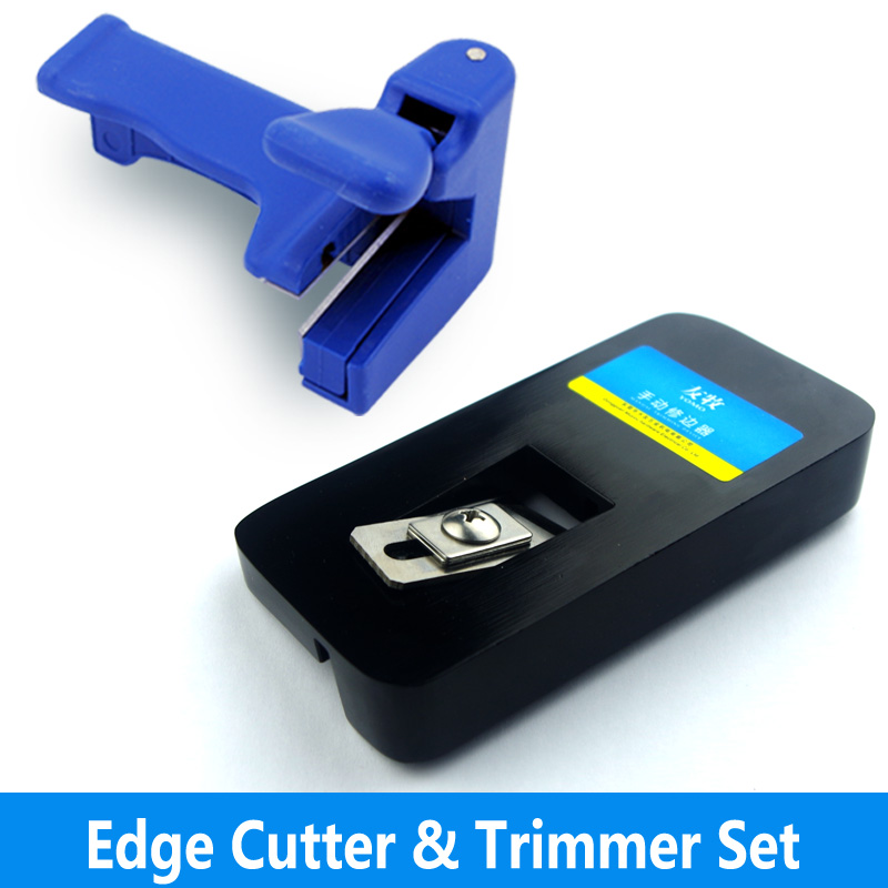 manual edge Trimmer and end cutter set use with edge ...
