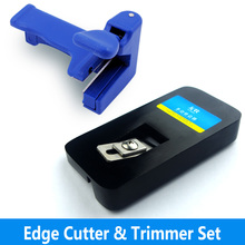 manual edge Trimmer and end cutter set use with edge banding machine woodworking tools