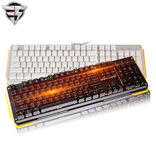 James Donkey 619 Mechanical Keyboard 104key MX black blue switches Backlight Gaming Keyboard For Laptop PC Computer gamer office
