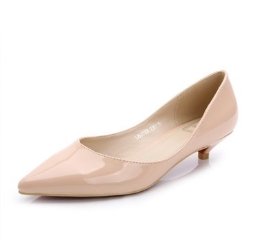 2016 Mini Size 33-41 15 Color  Low Heel Flats Women's Shoes Jelly Ballerina Flats Red Gold Sliver Nude Black Cute Women's Flats