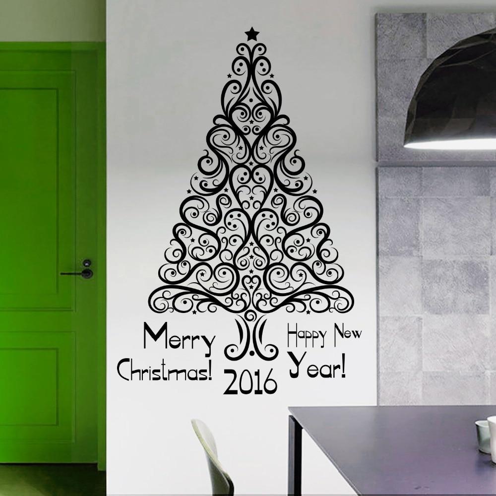 Christmas Wall Art Online Get Cheap Christmas Room Designs Aliexpresscom Alibaba