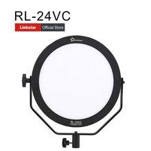 HKLinkstar 24W Bi-color Ultrathin Soft Daylight LED  studio Video Film Shooting Continuous Portable Pocket Light Dimmable RL24VC