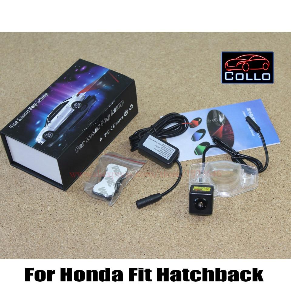 Fog Snow Rain Haze Bad Weather Auto Rear Laser Lights / Traffic Anti Collision Warning Light / For Honda Fit Hatchback 2002~2011