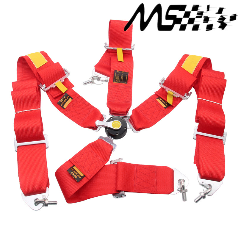 High quality racing 4 Point Racing font b Safety b font Seat Belt FIA 2020 width