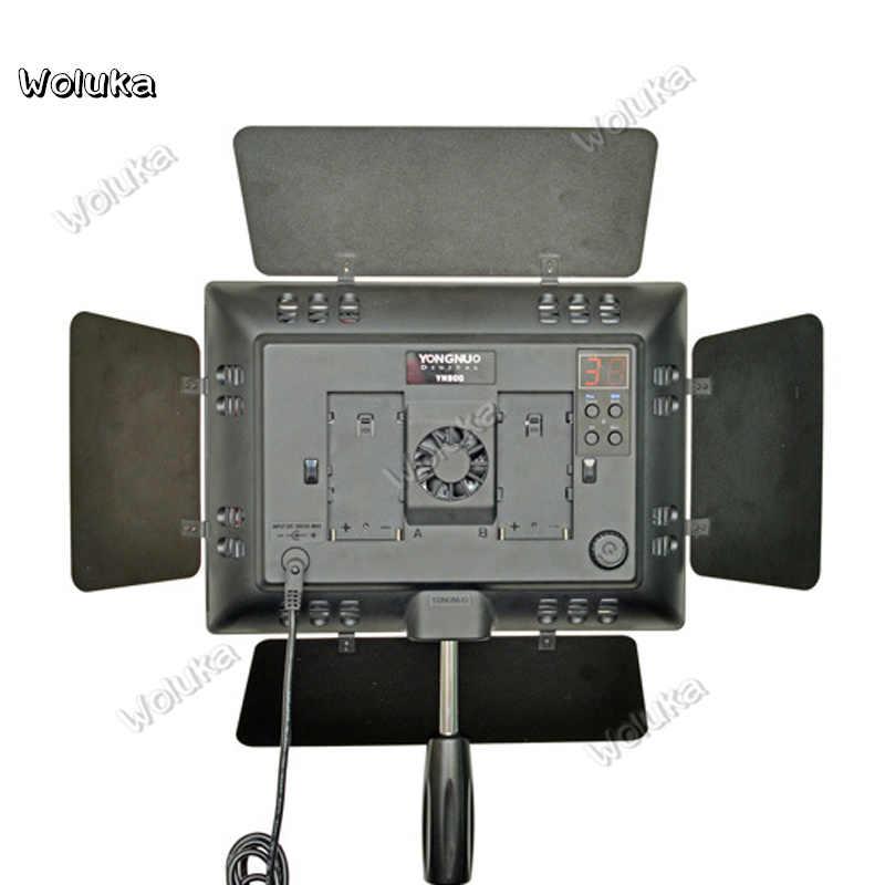 YN-900 LED Luz de Vídeo Foto Iluminação com Adaptador de Energia de Alta CRI 95 3200 K-5500 K Feijão De Estúdio de Vídeo painel de luz CD50 T03