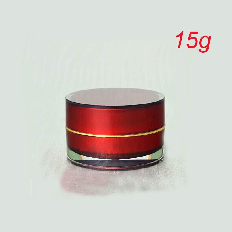 15g ACRYL cilinder vorm crème fles zalfpotje Cosmetische Jar - Huidverzorgingstools - Foto 1