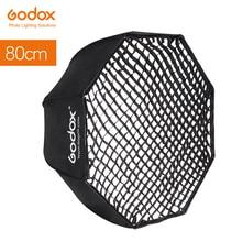 "Softbox godox 80cm 32 ""paraguas + de nido de abeja de Octagon Softbox Reflector de panal Softbox para TT685 V860II Flash"