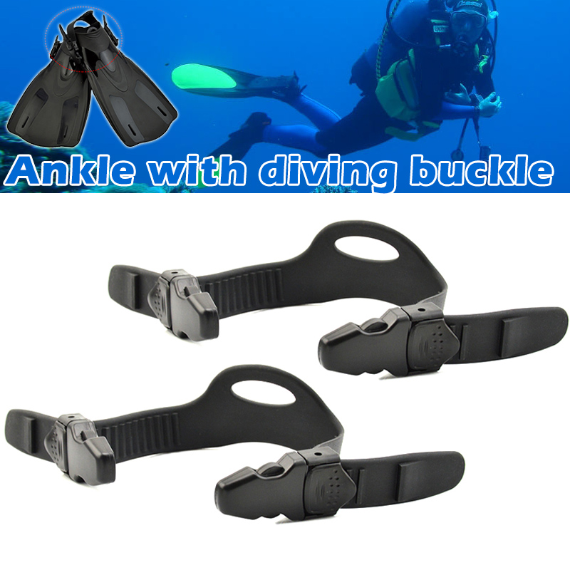 2pcs Universal Fins Strap With Quick Release Buckle For Diving Swimming JT-Drop Ship