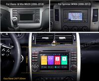 XTRONS 7Android 8.0 Octa Core Car DVD Player for Mercedes Benz W245 W169 Viano Vito W639 Sprinter W906 2006 2008 2009 2010 2011