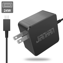 купить Jianhan Netbook Laptop 24W 12V/2A AC Adapter high power stable output Laptop charger for ASUS EeeBook X205 X205T X205TA дешево