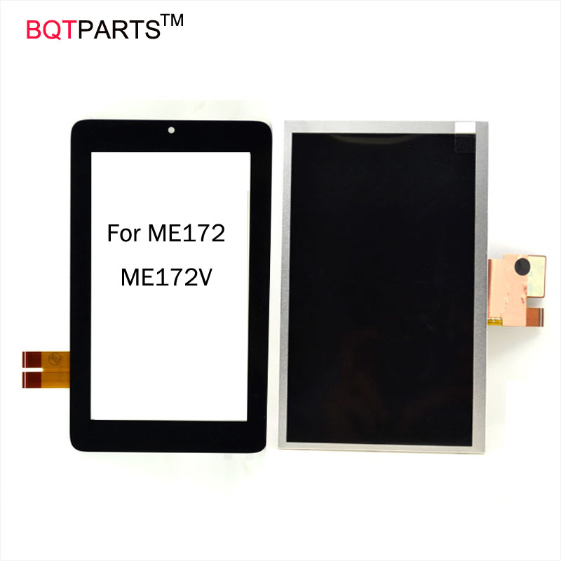 BQT Tablet PC Special Original For ASUS Memo Pad 7 Inch Tablet ME172V ME172 K0W Touch Screen digitizer with free shipping free shipping tablet original for asus memo pad 8 me181c me181 k011 076c3 0807b black touch screen panel glass digitizer
