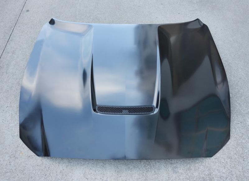 Z-ART GT350 acier capot moteur pour Ford Mustang 2015-2017 2.3 T lifting moteur bonnet pour Mustang