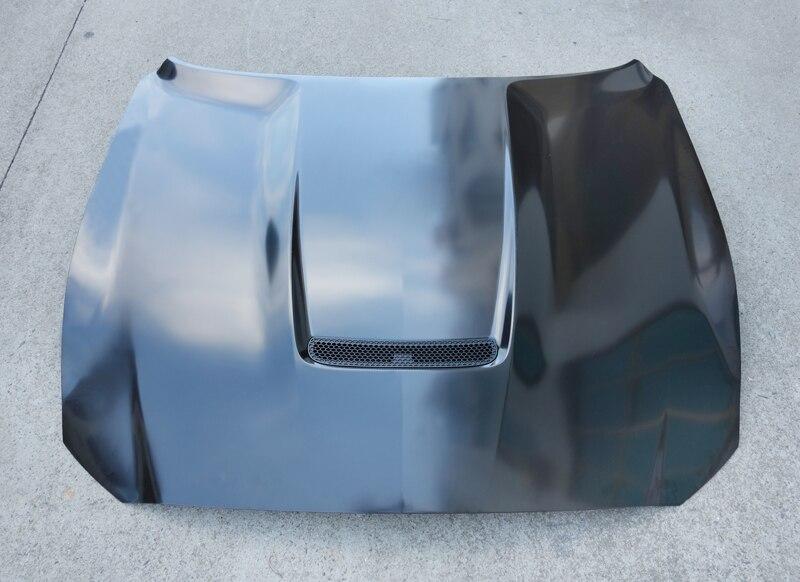 Z-ART GT350 стали капот для Ford Mustang 2015-2017 2,3 5.0L подтяжку лица капот для Mustang