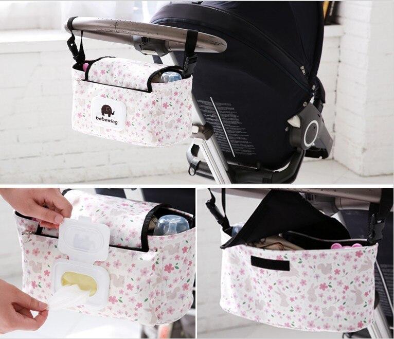 rosa Ganchos Carrito Beb/é Bolsas colgantes de sus bolsas para beb/és en el cochecito o el cochecito con total seguridad Tama/ño universal Pack de 2 piezas 3 colores a elecci/ón
